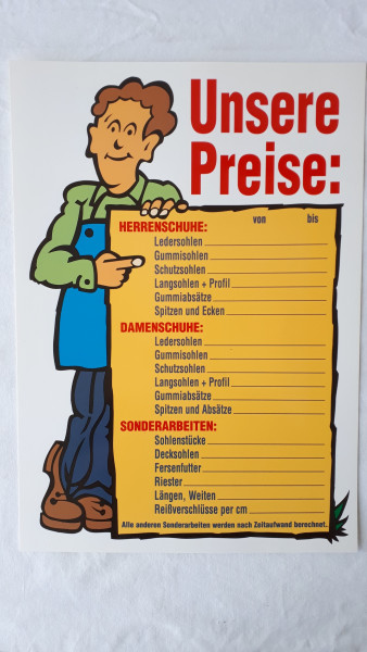 Schild Preise_1