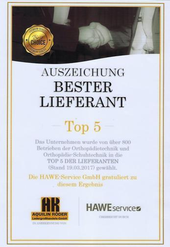 Bester-Lieferant-Top5